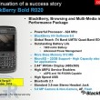 BlackBerry Bold R020 con BlackBerry OS 6 para Octubre