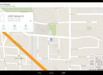 Android Device Manager gana app nativa en Google Play