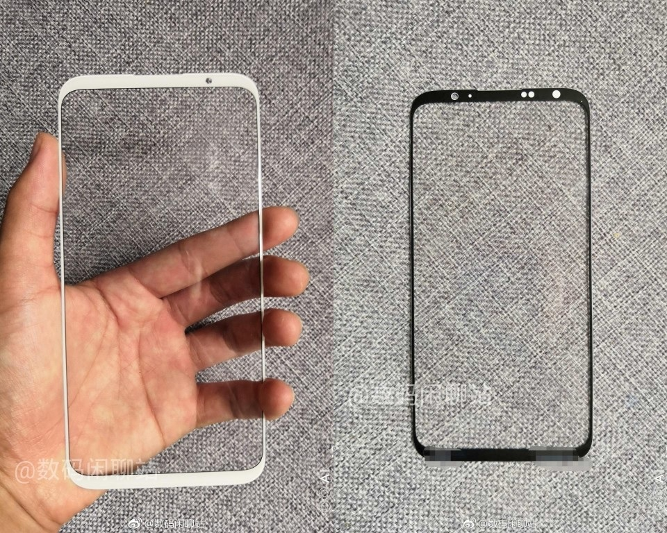 Este es el panel frontal del Meizu 16 Plus