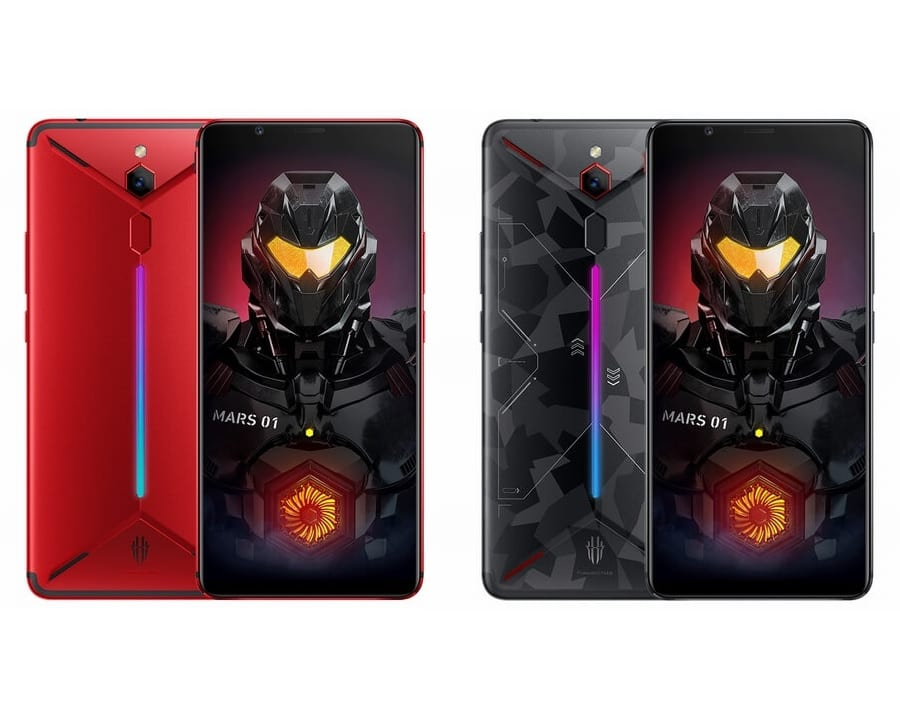 Nubia presenta su segundo smartphone de gaming: el Nubia Red Magic Mars