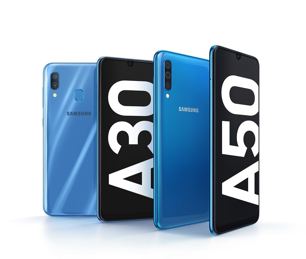 La nueva Samsung Galaxy A series comienza a ensamblarse con el Galaxy A50 y Galaxy A30