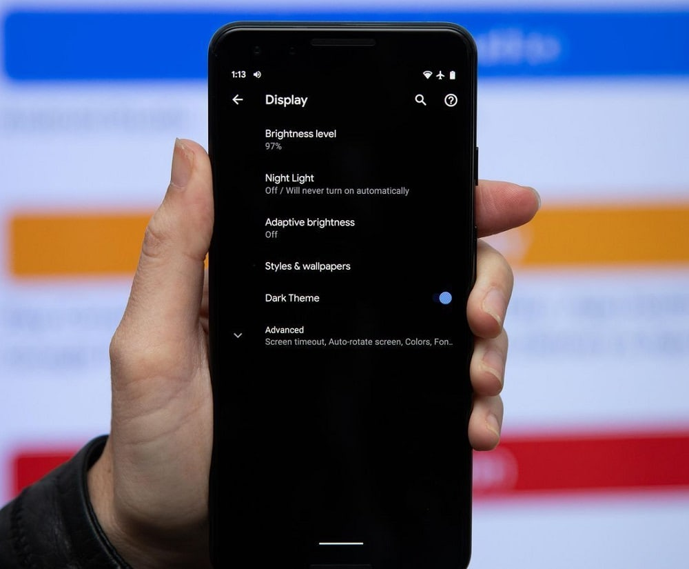 Apple Music y Gmail ya tienen su Dark Mode en Android 10 e Instagram sigue ese camino