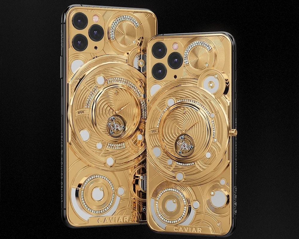 El Apple iPhone 11 Pro Solarium de Caviar cuesta US$70.000