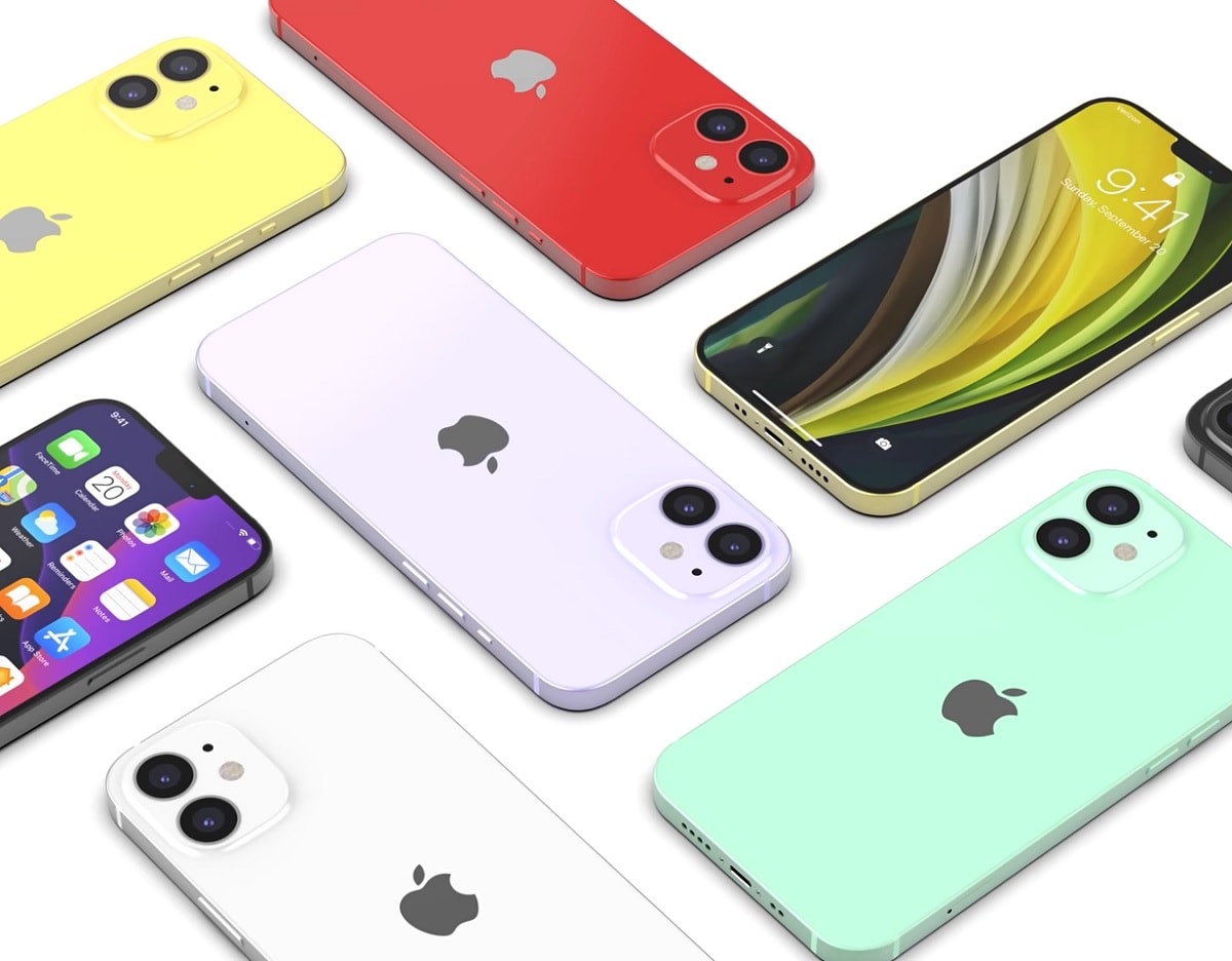 Apple iPhone 12 Series ve filtradas sus características y sus diseños