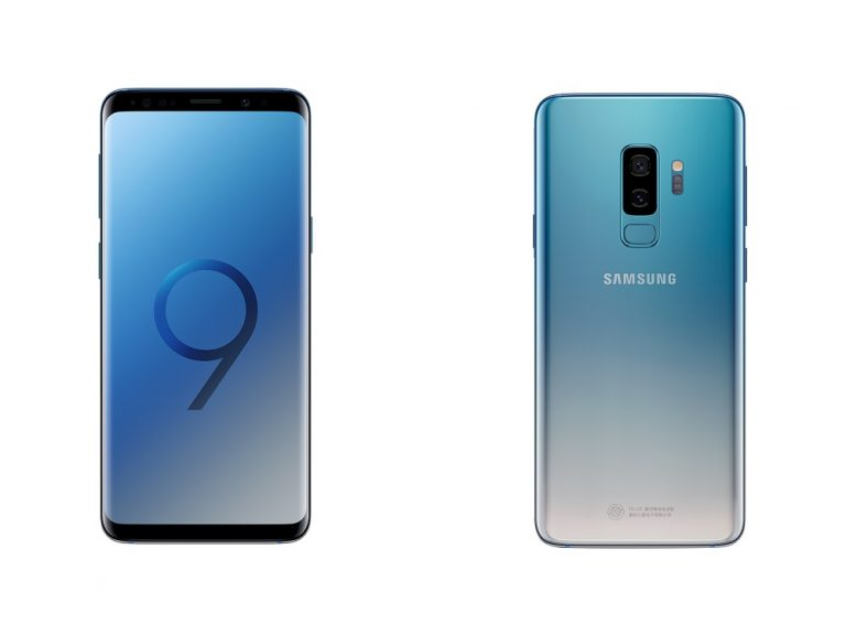 El Samsung Galaxy S9/S9+ debuta en color Ice Blue degradado